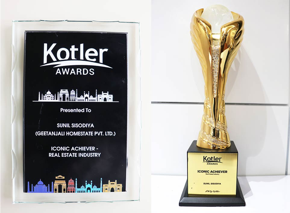 "Iconic Achiever 2020 ""Real-Estate Industry"" Kotler Award"
